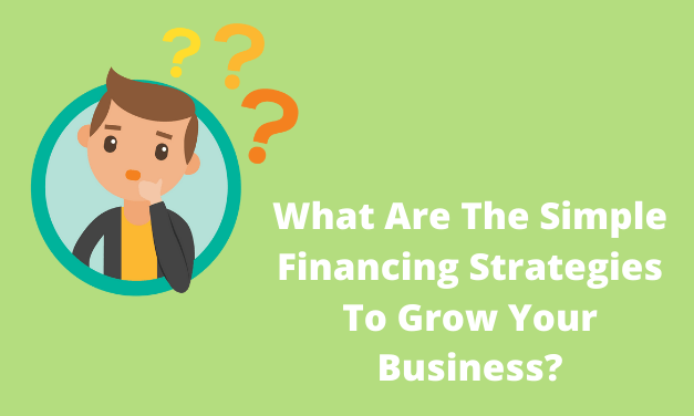 What Are The Simple Financing Strategies To Grow Your Business